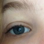 before mascara