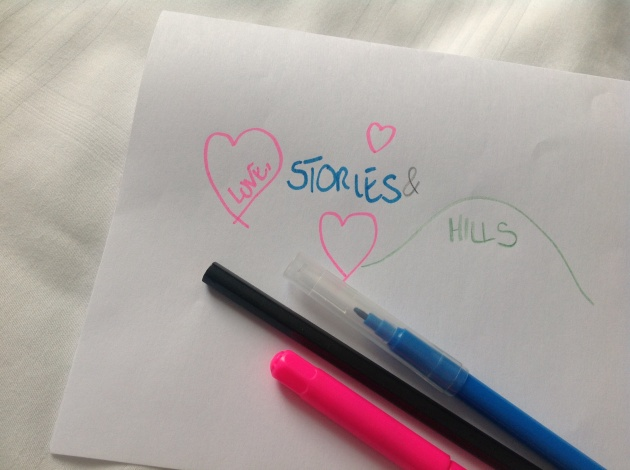 stories, love and hills