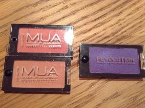 MUA & Makeup Revolution packaging comparison - similar or no?!?