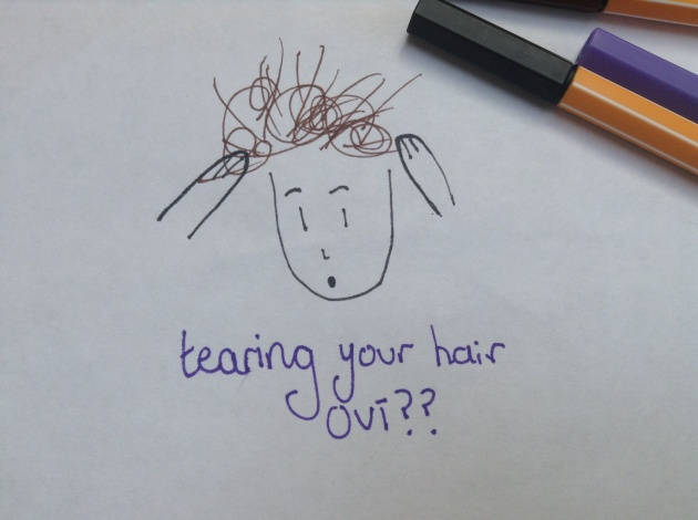 Tearing your hair out??