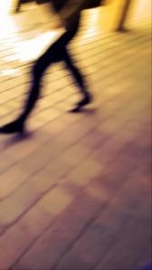 Walking, Amber Filter