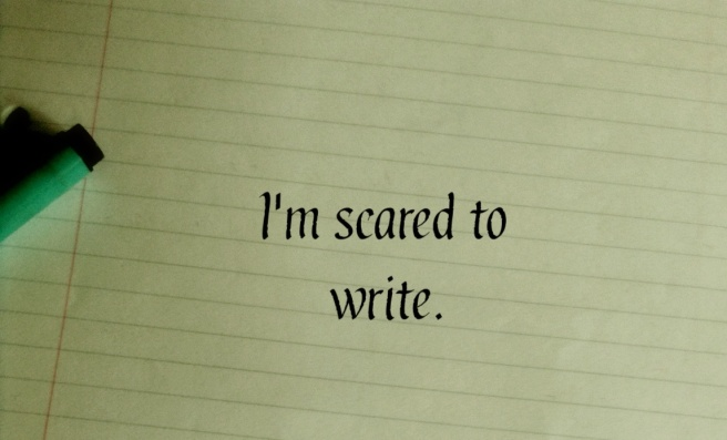 I'm Scared to Write