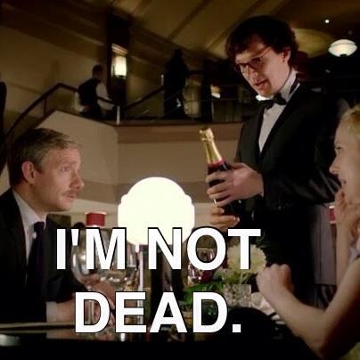 Sherlock I'm not dead