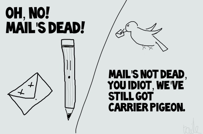 Mail's not dead