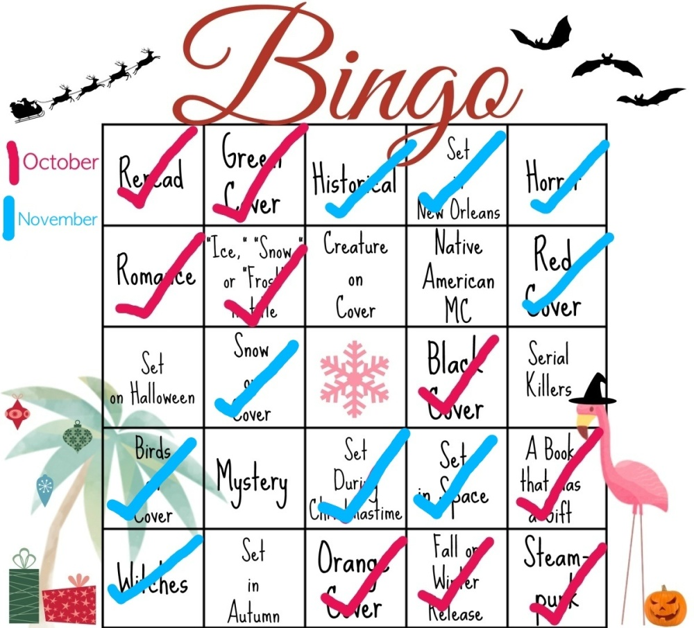 Bookish Bingo and Carry On (2/3)