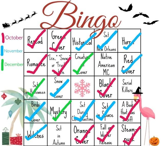 Bookish Bingo December