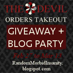The Devil Orders Takeout - Birthday Giveaway 2015
