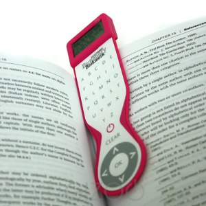 dictionary bookmark