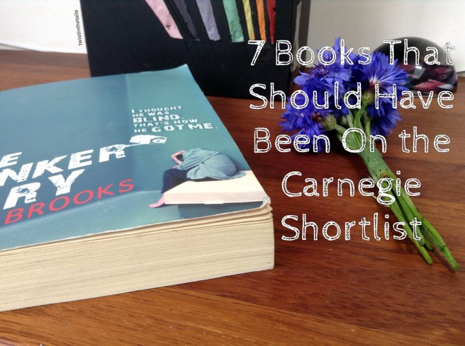 7 books that should have been on the carnegie shortlist