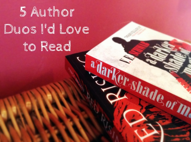 5 authord duos i'd love to read