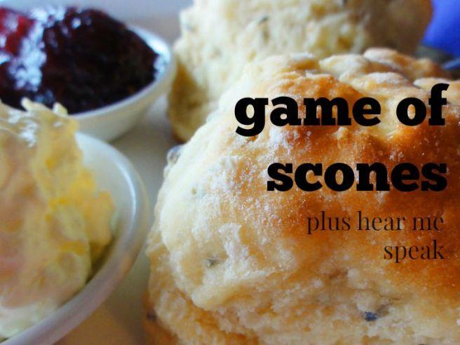 speech pattern scones