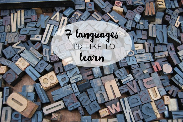 seven languages to learn2