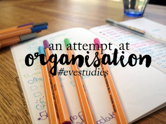 an attempt at organisation evestudies